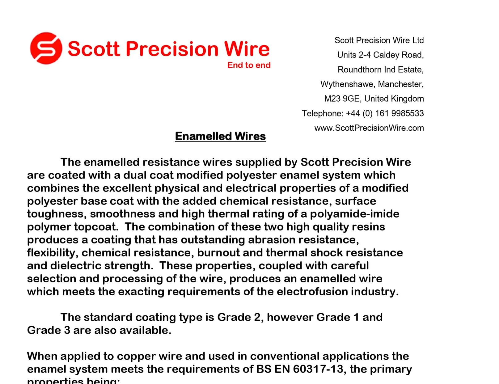 Enamelled Wire2